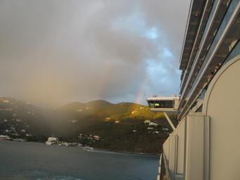 Double Rainbow Tortola Sailaway