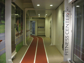 Oasis of the Seas Running Track