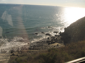 Amtrak Coast Starlight Sea Edge