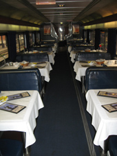 Amtrak Dining Car Coast Starlight