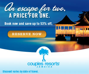 Discounts at Couples Resorts - Adults Only
