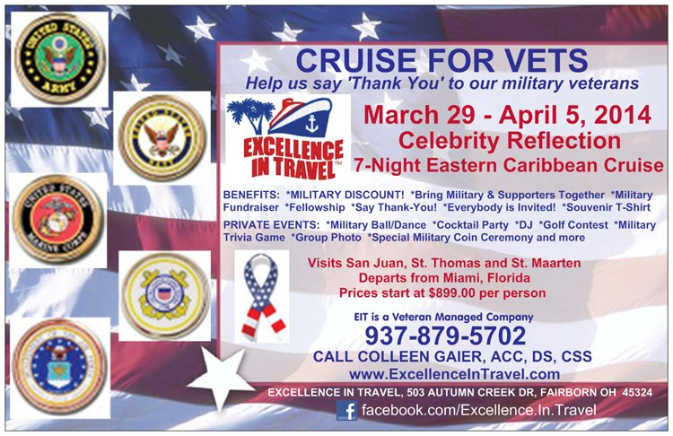 Military Cruise Flyer