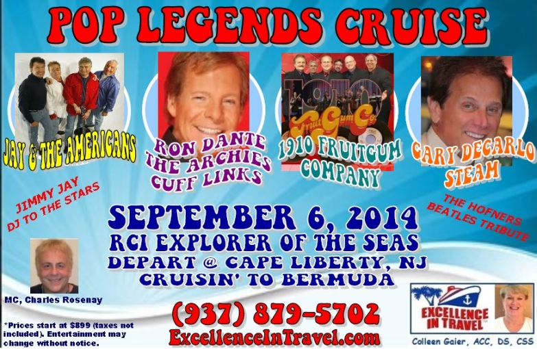 POP LEGENDS CRUISE