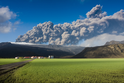 2010 Iceland Volcano Resulted in Over 95K flights to be cancelled all across Europe!