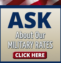 Ask About Our Military Rates