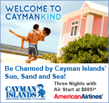 Cayman Island Three Nights with Air Start at $885
