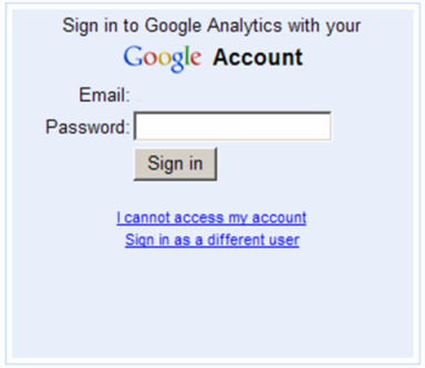 Nexcite training and help site google analytics Google sites sign in