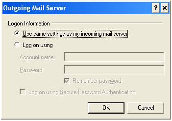 how to change smtp port in outlook 2007