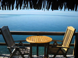 InterContinental Resort and Spa Moorea - Bungalow #523 Balcony