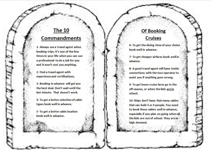 The 10 Commandments of Travel