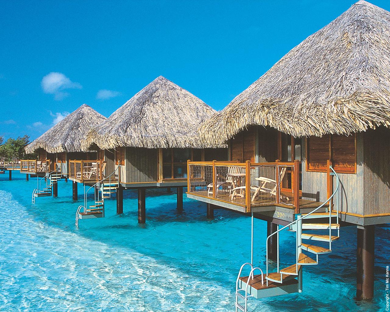 Reise til Tahiti Rabattert Pakkereiser - 10 DAGER, Moorea og Bora Bora Ferie Eller