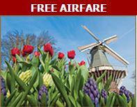 Free airfare on AMAwaterways