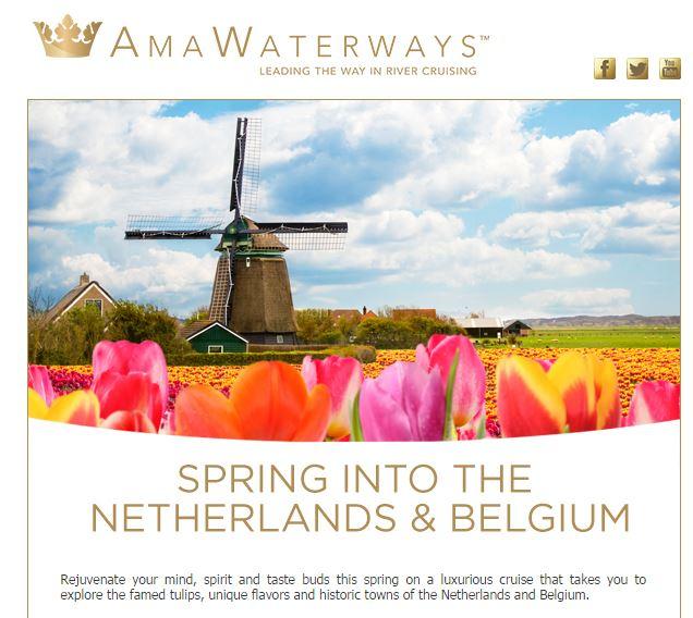AmaWaterways Tulip cruise