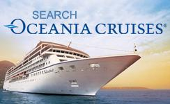 Oceania Booking engine