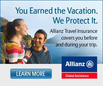 We recommend Allianz Travel Insurance