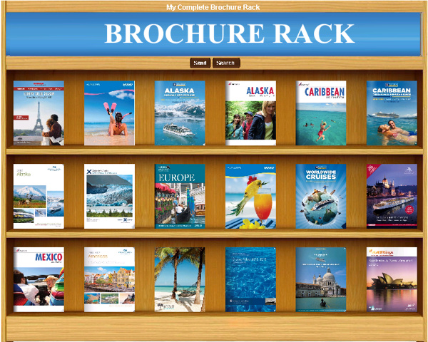 E-Brochur Rack