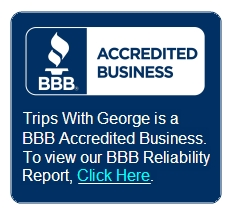 Trips With George is a BBB Accredited Business