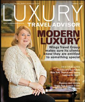 Luxury Travel Advisor-April 2012
