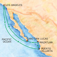 Mexican Riviera And Baja Cruises